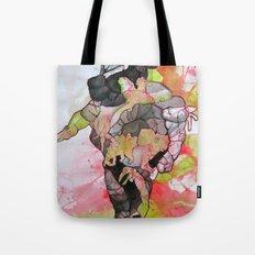 Dino-man Tote Bag