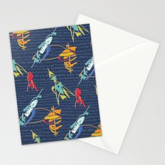 Abstract Atomic Rockets from Space Stationery Cards