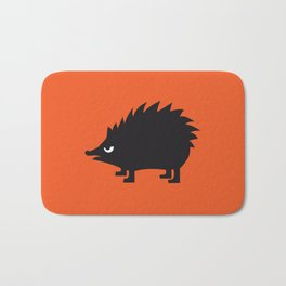 Angry Animals: hedgehog Bath Mat