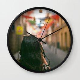 Estrella Exploring Wall Clock