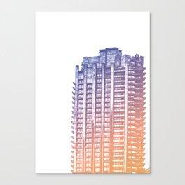 Barbican London Canvas Print