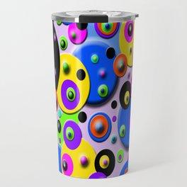 Retro colorful Style Travel Mug