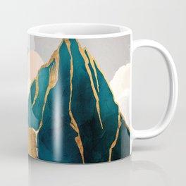 Golden Waterfall Coffee Mug
