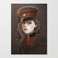 captain Canvas Prints featuring Captain by shugmonkey