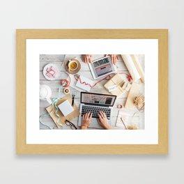 Sample Art Framed Art Print