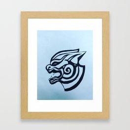 Bhoeda aap Framed Art Print