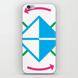 Time Cube iPhone Skin