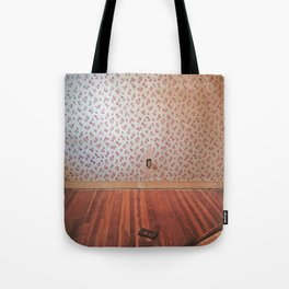 Uncovering the Roses Tote Bag