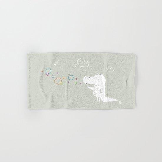 The Happy Bubbles Hand & Bath Towel