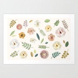 Floral Illustration Art Print