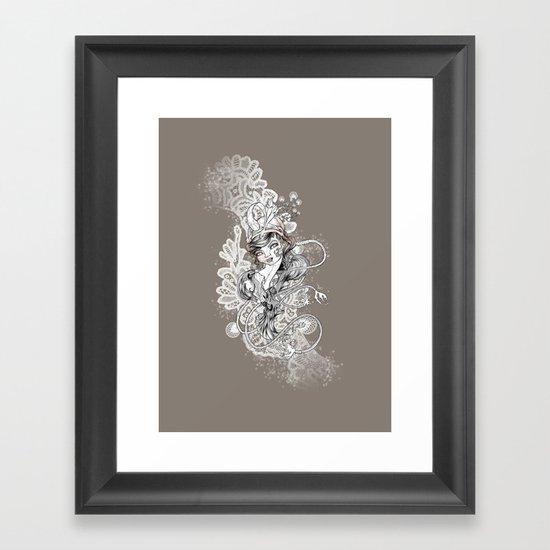 Gipsy Framed Art Print