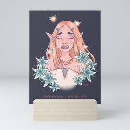 Zelda's Sorrow Mini Art Print