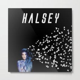 Halsey (Demo) Metal Print