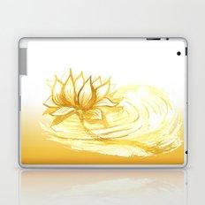 The Golden Lotus Laptop & iPad Skin