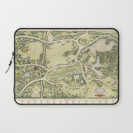 Strolling through history Laptop Sleeve