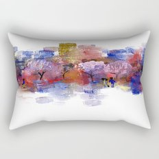 City Park Rectangular Pillow