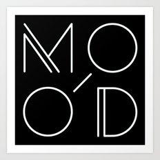 MOOD - MODERN Art Print