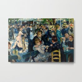 Renoir - Dance at Le Moulin de la Galette Metal Print