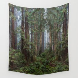 Morning In The Park Wall Tapestry