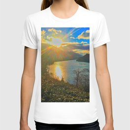 Columbia River Gorge, Sunset T-shirt