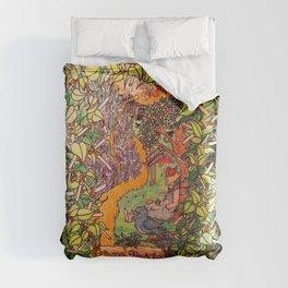 Big Rock Candy Mountain Comforters