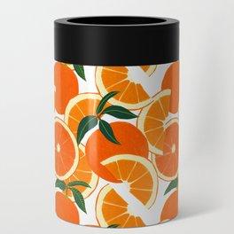 Orange Harvest - White Can Cooler