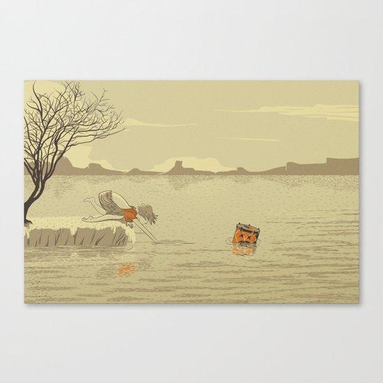 ANALOG Zine Canvas Print