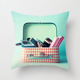 Secret Stash Throw Pillow
