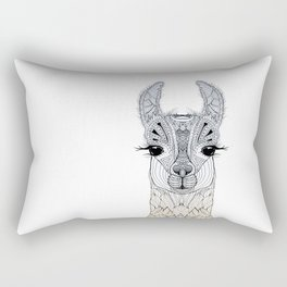 BABY LAMA (CRIA) Rectangular Pillow