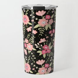 Colorful floral bouquet Travel Mug