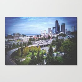 Seattle Summer Canvas Print
