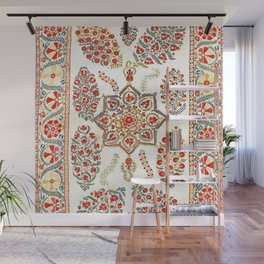Bokhara Suzani Southwest Uzbekistan Embroidery Print Wall Mural