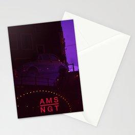 Amsterdam at Night No.1 Stationery Cards