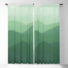 Hunter Mountain summer Blackout Curtain