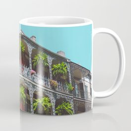 Hanging Baskets of Royal Street, New Orleans Coffee Mug