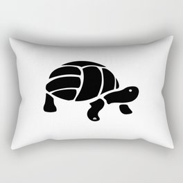 Volley Turtle Rectangular Pillow
