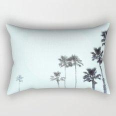 Tranquillity - aqua moon Rectangular Pillow