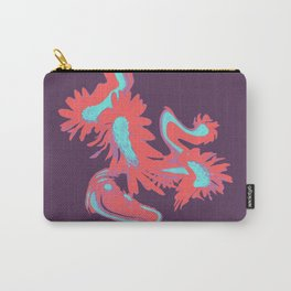 Meadow Dreaming purple and red Carry-All Pouch