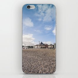 Bray beach landscape iPhone Skin