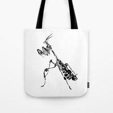 Violin Mantis Tote Bag