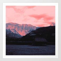 landscape, altered colors 03 Art Print