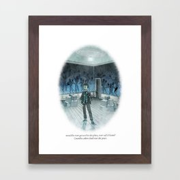 Behind You 26 Framed Art Print