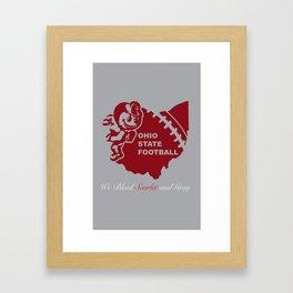 We Bleed Framed Art Print