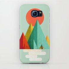 Little Geometric Tipi Slim Case Galaxy S7
