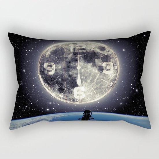 Midnight at Space Rectangular Pillow