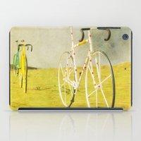 tour de france iPad Cases featuring Le Tour by bomobob