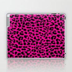Neon Pink Leopard Laptop & iPad Skin