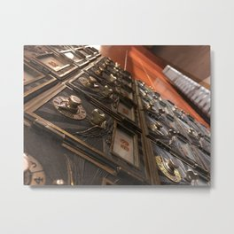 Locked Secrets Metal Print