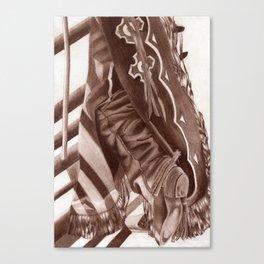 Cowboy Duds Canvas Print