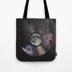 L.P. (Lunar Phonograph) Tote Bag